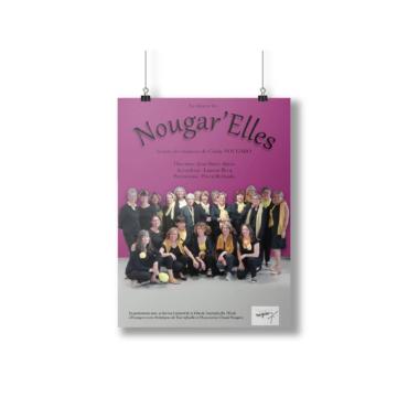 Affiche Nougar'elle 2019 - Anaïs Clavel, maquettiste designer graphique