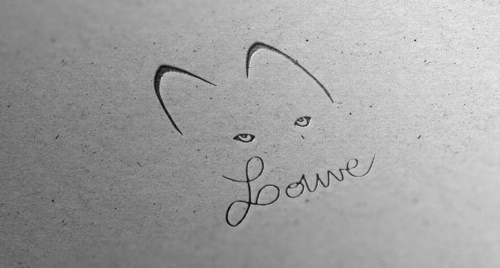 Logo L'atelier Louve - Anaïs Clavel, designer graphique
